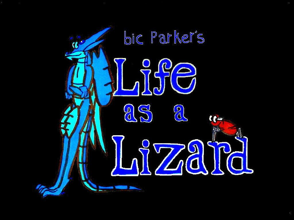 Life as a Lizard cartoon- social animal crackers